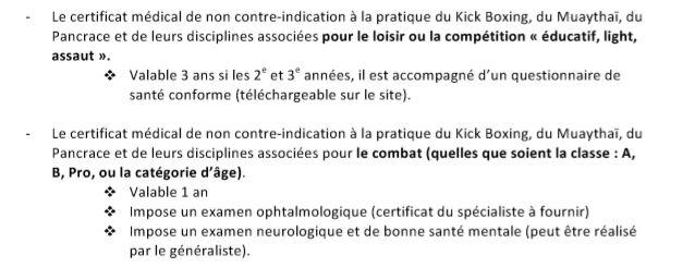 Certificat medical bcg 1